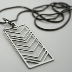 '80s Chevron Necklace, $45, now featured on Fab.