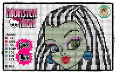 Monster High  pattern by Carina Cassol - http://carinacassol.blogspot.de/