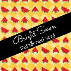 Patterned Vinyl & HTV - Watermelon - 04 Best Settings, Craft Cutter, Patterned Vinyl, Sheet Sizes, All Brands, Heat Transfer Vinyl, Adhesive Vinyl, Watermelon, Cricut