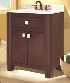The Portafino bath vanity collection from Sagehill Designs.  Find out more at www.sagehilldesigns.com.