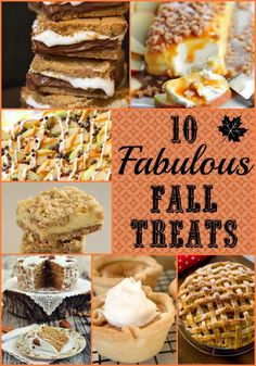 10 Fabulous Fall Tre