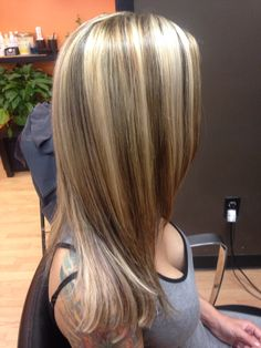 150 Best Chunky Blonde Highlights Images Hair Coloring