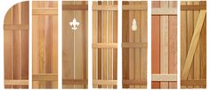 craftsman shutters | Southern Shutter Company | Board and Batten Shutters