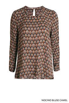 Nocino Bluse Camel von KD Klaus Dilkrath #kdklausdilkrath #nocino #blouse #camel #shirt #oriental #chic #kdklausdilkrath #kd #dilkrath #kd12 #outfit