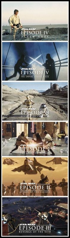 The Star Wars Saga...