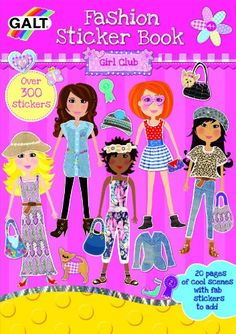 Fashion Sticker Book: Amazon.de: Spielzeug