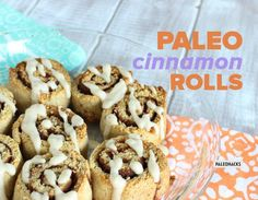 Looking for the perfect indulgent treat? These ooey gooey cinnamon rolls are to die for... and are approved for your Paleo lifestyle!
