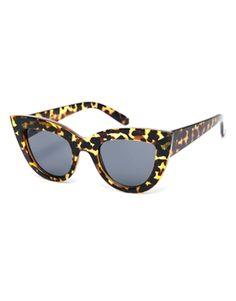 ASOS Flat Top Cat Eye Sunglasses