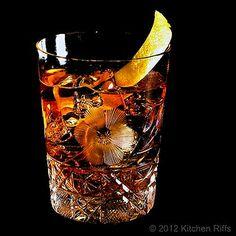 Old Fashioned Cocktail   kitchen riffs