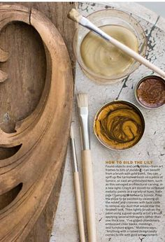 decorative gilding with matthew mead, via centsational girl blog