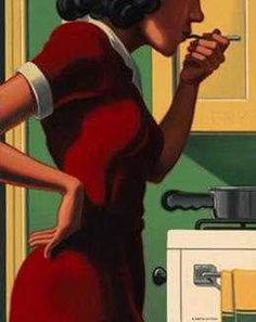 untitled workby Kenton Nelson (?) (contemporary) - (mediacache)