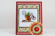 My Noteworthy Cards: Sweet 'n Sassy Stamps Digi Challenge Back to Nature