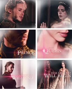 Mary (Adelaide Kane) and Francis (Toby Regbo) are life #Reign #CWReign