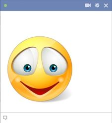 Smiling Facebook Emoticon