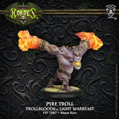 Pyre Troll   Privateer Press