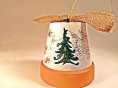 a Christmas Bells, Christmas Ornaments, Joy, Crystals, Create, Holiday Decor, Handmade, Color, Hand Made