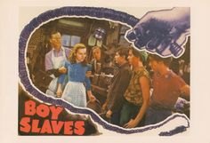 Boy Slaves (1939) Film Posters, Boys, Painting, Art, Baby Boys, Art Background, Children, Painting Art, Film Poster