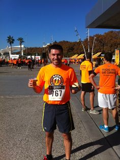 En la Beer Runner de Málaga del 30 de Noviembre de 2013.