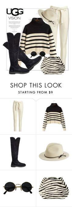 """""""The New Classics With UGG: Contest Entry"""" by nataschic ❤ liked on Polyvore featuring A.L.C., UGG, rag & bone, Prada and ugg"""