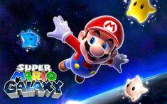 Super Mario Galaxy Klassiker Erscheint Offenbar Fur Wii U Super Mario Galaxy Gilt Als Einer Der Bedeutendsten Und Be Super Mario Kunst Super Mario Bros Wii