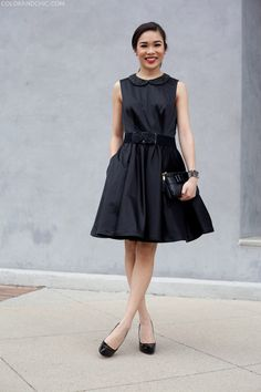 Back in Black :: Lace & Jewels | Color & Chic