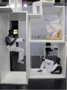 Narrative Mannequins, pinned by Ton van der Veer