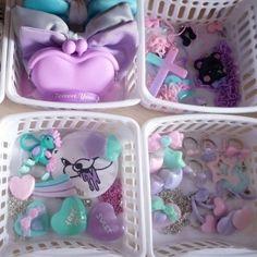 Pastel goth accessories