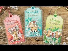 Lawn Fawn Video {12.20.16} Fuse Tool Shaker Tags with Yainea! | the Lawn Fawn blog | Bloglovin'