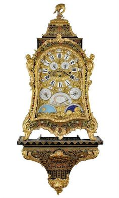 ONE OF THE BEST CLOCK OF ITS TYPE IN THE WORLD <br>  <br>  <br>  <br> This unique astronomical musical clock was crafted at the legendary Paris-based clock making workshop of Julien and Pierre Le Roy in the second third of the 18th century, likely around 1740. During this time France was ruled by King Louis XV and was a European centre of culture. This extremely rare Baroque console clock represents a beautiful example of the very finest French clock-making and cabine...