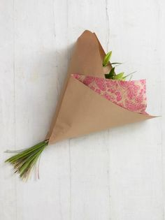 Gift-Wrapped Bouquet