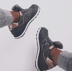 new balance 574 rose gold et grise