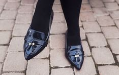 ZARA tassel loafers