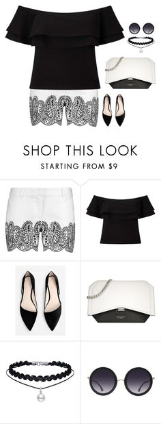 """""""#4167"""" by azaliyan ❤ liked on Polyvore featuring MICHAEL Michael Kors, Miss Selfridge, MANGO, Givenchy and Alice + Olivia"""