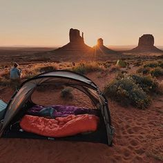 Adventure is out there! Go camping in a remote place and wake up to see the sunrise.