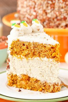 This Carrot Cake Cheesecake Cake has two layers of super moist carrot cake and a middle layer of creamy cinnamon cheesecake! It's covered in cream cheese whipped frosting and is the perfect cake to celebrate Easter next month! So speaking of Easter (and you know, Easter eggs), I had a pretty funny conversation with my …