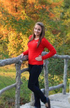 fall senior pic, outdoor senior pic