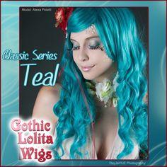 (http://www.gothiclolitawigs.com/gothic-lolita-wigs/classic-teal-lolita/)  GLW $41.50