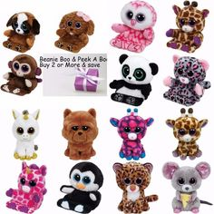 e88fae6359b Ty Beanie Boos 6 Soft Toy   Ty Beanie Boo Peek-A-Boo Smart Phone Holder  NWMT  smartphones