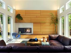 Living room joinery