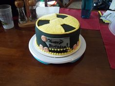 Fallout themed cake