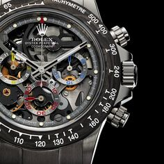 The new Les Artisans De Gene?ve La Montoya Rolex Daytona watch with images, price, background, specs, & our expert analysis. Stylish Watches, Cool Watches, Rolex Watches, Best Watches For Men, Luxury Watches For Men, Automatic Watches For Men, Relogio Casio Edifice, Rolex Daytona Watch, Casio Protrek