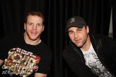 Shawn Thornton Johnny Boychuk Boston Bruins