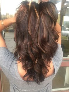 Image result for dark to light brown balayage