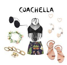 """Coachella '16"" by kitty-gang ❤ liked on Polyvore featuring Luli Fama, Penfield, Elina Linardaki and Lipsy"