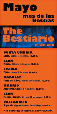 La utopía del día a día: The Bestiario de Felipe Zapico en Elektra Comics