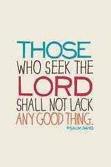 Psalms 34:10