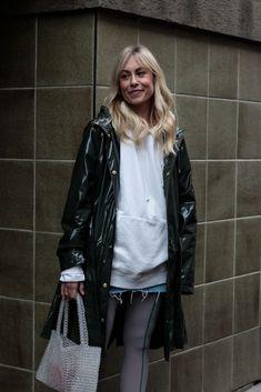 Vinyl Raincoat, Pvc Raincoat, Rainy Day Fashion, Raincoats For Women, Trends, Unisex, Rain Wear, Must Haves, Patent Leather