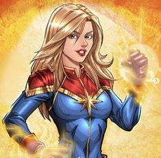 Captain Marvel by WillNoName on DeviantArt