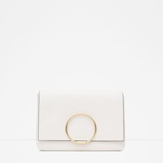 Image 1 of CLUTCH WITH METAL DETAIL from Zara