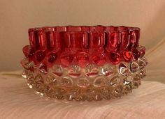 Victorian glass bowl. 1886